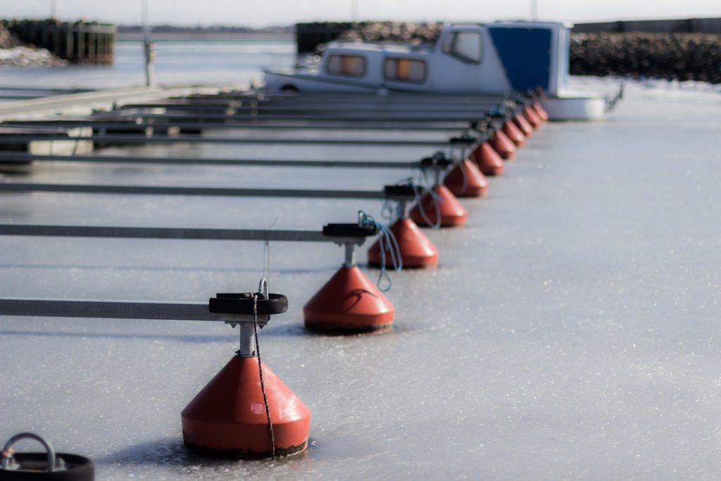 Haverslev Havn am Limfjord (Dänemark