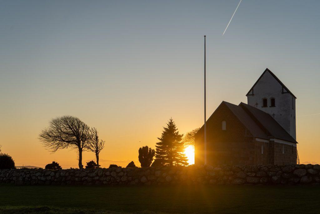 Aggersborg Kirke im Oktober 2019
